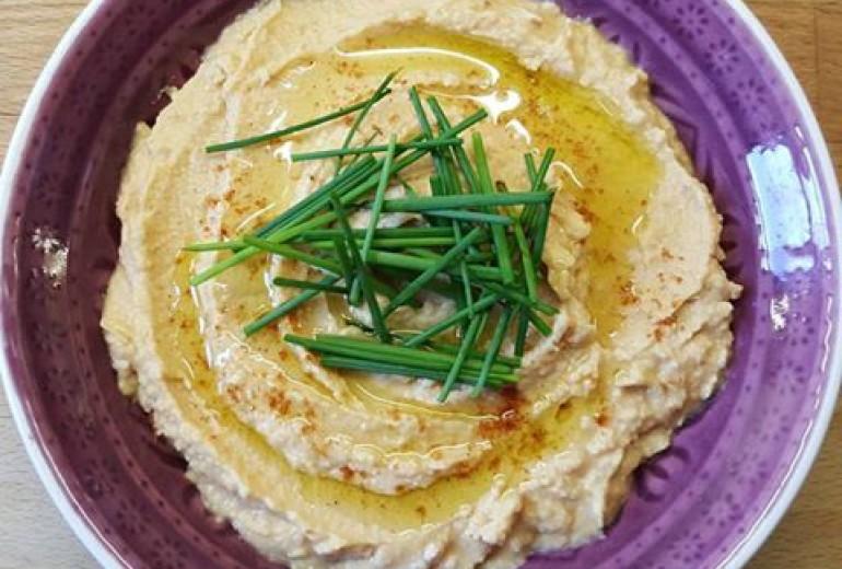 Quick Hummus (Houmous)
