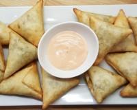 Cheat Tortilla Lamb Samosas