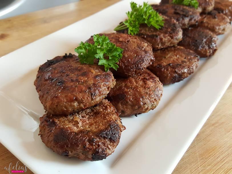 Afelia's Lamb Kebabs