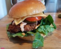 Chicken Steak Burger