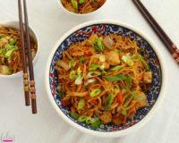 Afelia's Quorn Chow Mein