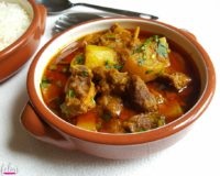 Gosht & Mula Curry (Lamb & White Radish)