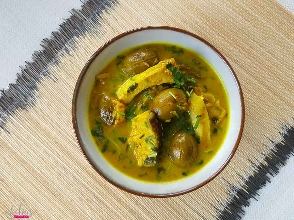 Tenga Sour Fish Curry