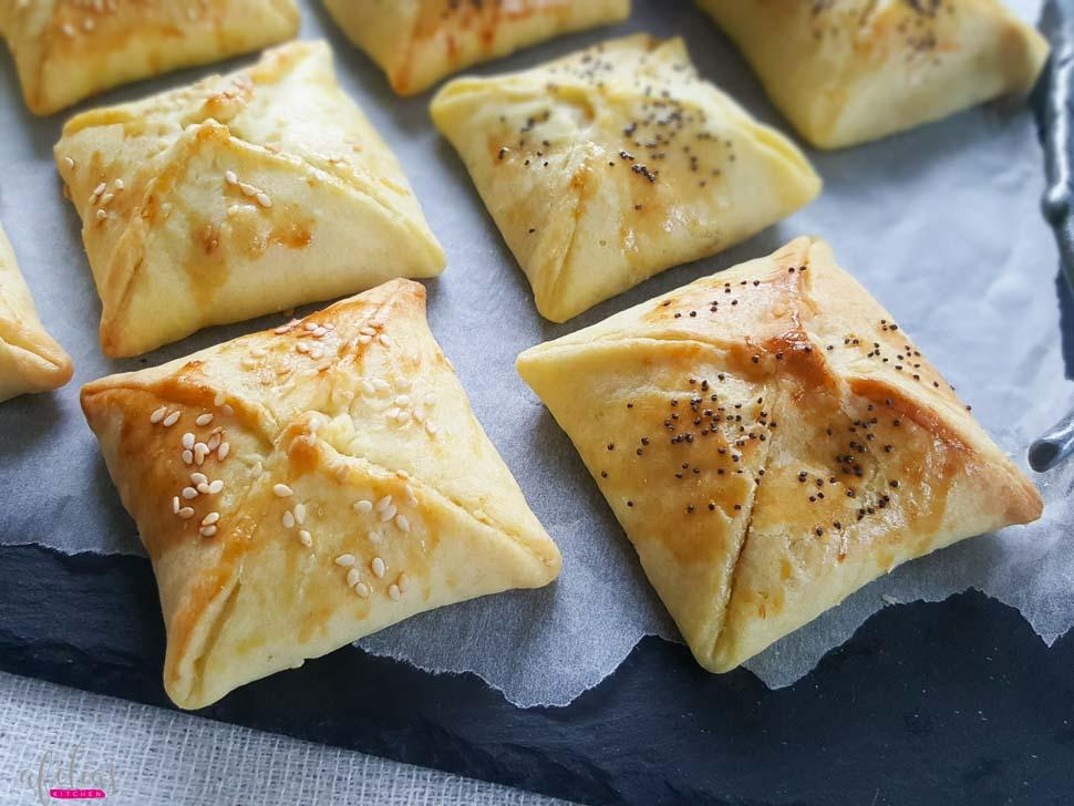 Tuna And Cheese Pyramids