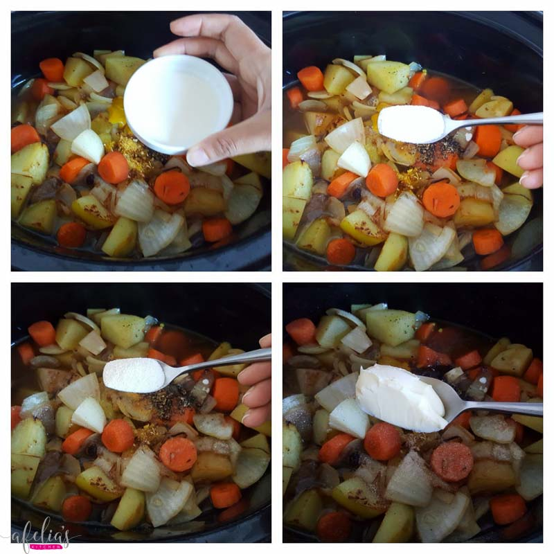 how to make lamb stew with vegetables slow cooker