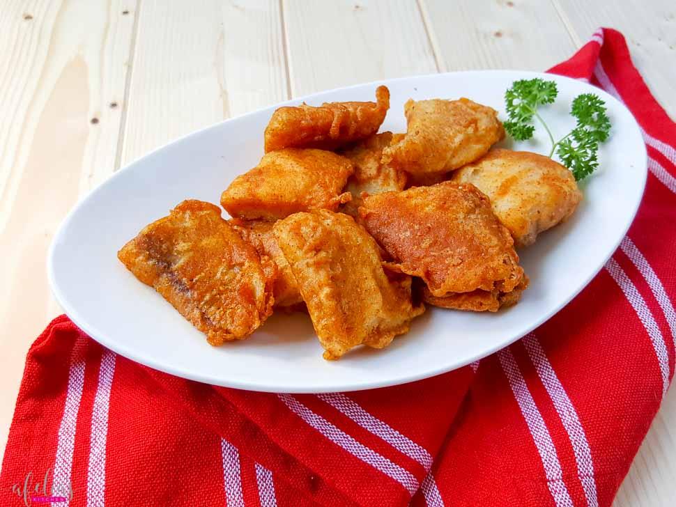 Crispy Tandoori Fish Bites