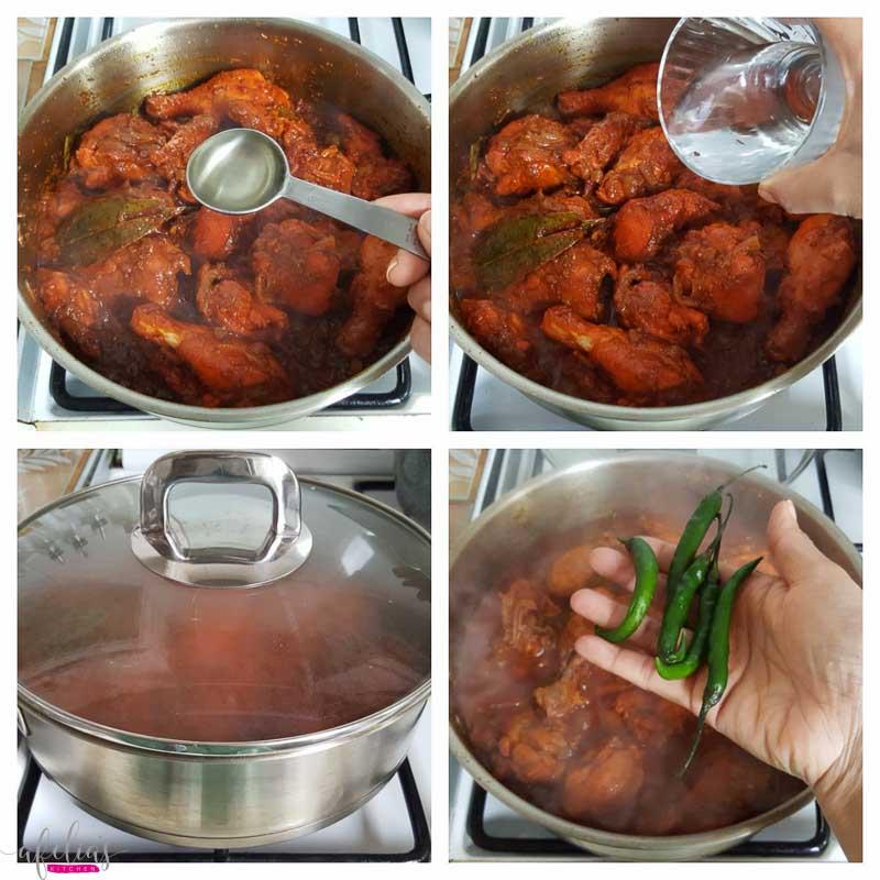 Spicy kewra Chicken