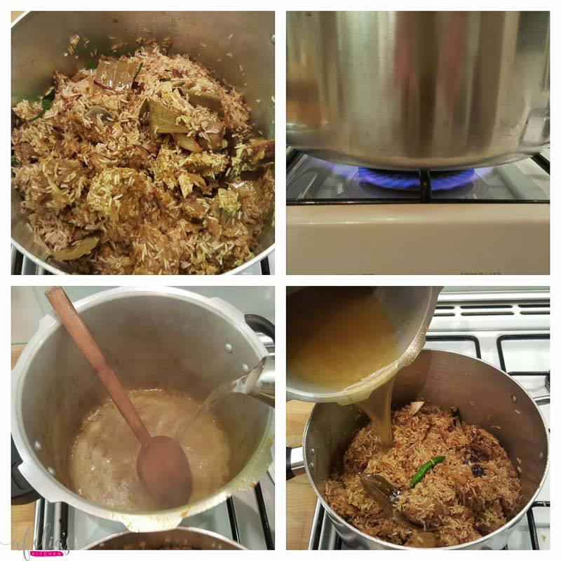 how to make pilau rice with meat