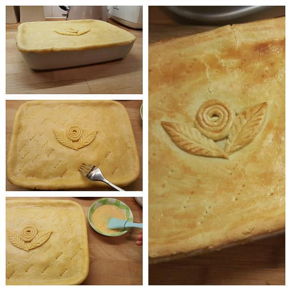 Creamy Chicken & Mushroom Pie - Afelia's Kitchen