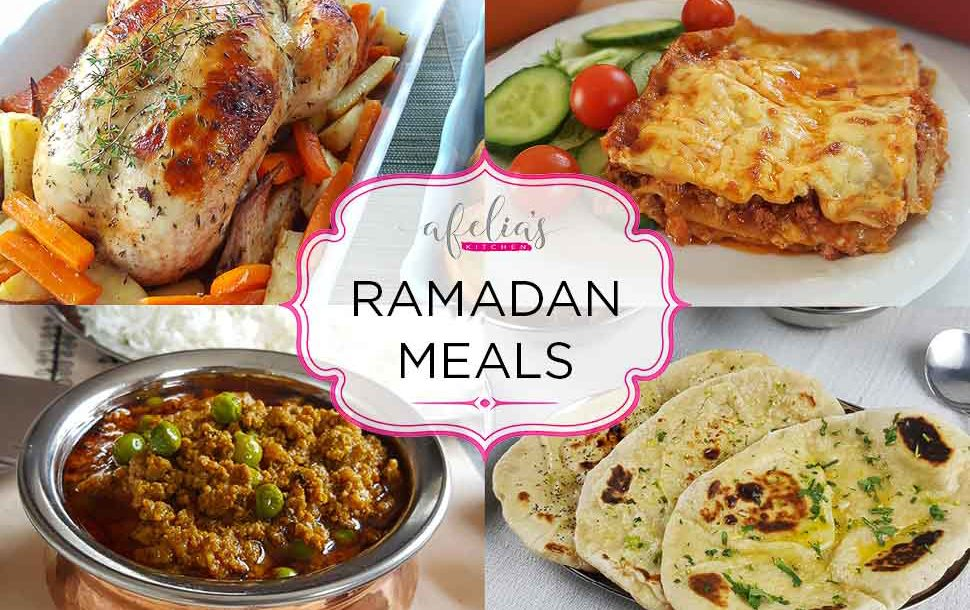Ramadan meals afelias kitchen if youre not one to have traditional foods for iftar and just want a nice meal heres a roundup of some recipes you may want to try forumfinder Image collections