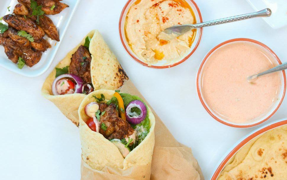 Kebab Wrap Afelia S Kitchen